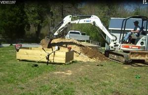 Garden Construction - First Move of Dirt