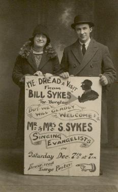 Bill Sykes the Burglar - Seth & Bessie Sykes