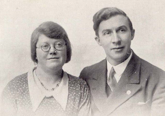 Evangelists Mr & Mrs Seth Sykes c.1929