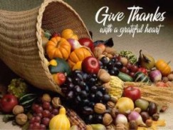 thanksgiving devotional service