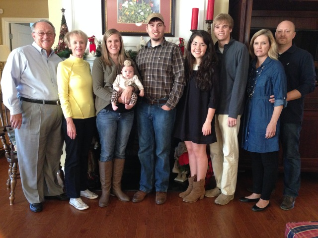 2014 Davenport Family Thanksgiving Pic