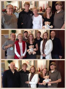 Christmas 2013 - Charlotte, Jim, Keven, Amy, Mason, Ashlyn, Josh