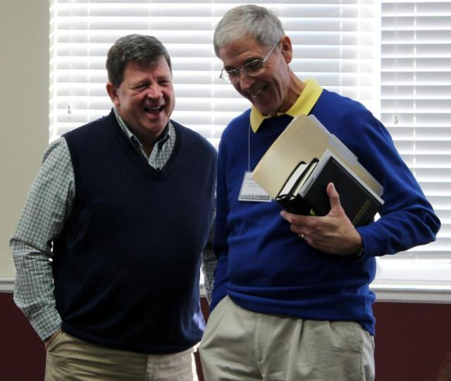 Benny Pate (L) and Dennis Rogers - 2013