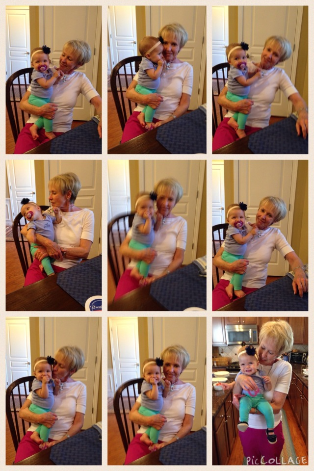 Nana with sweet little Rhory. Two really beautiful ladies!!
