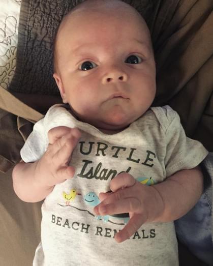 Rhett at 4 weeks.