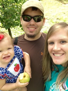 Rhory, Ashlyn, Josh at Apple Festival