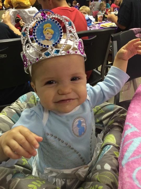 Rhory - Our Princess at Her One Year Birthday Party