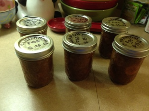 2013 Cinnamon Figs - 8 oz Jars