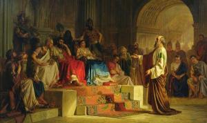 Nikolai_Bodarevsky_King Herod Agrippa II & sister Berenice -1875