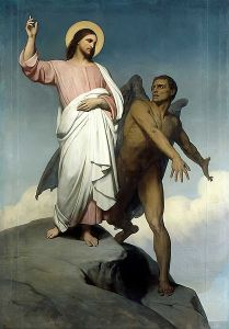The Temptation of Christ Ary Scheffer - 1854