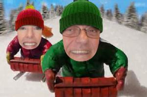 Jim & Charlotte's Sled Race