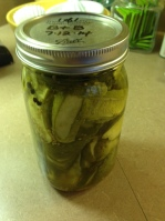2014 Bread & Butter Pickles