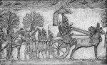 Sennacherib - King of Assyria - Sennacherib during his Babylonian war, relief from his palace in Nineveh (Public Domain)