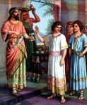 Daniel refusing the King's Food - 1900'sO.A. Stemler http://www.thebiblerevival.com/clipart48.htm