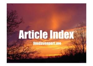 Article Index jimdavenport.me (2)