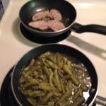 Contender Green Beans & Pork Loin