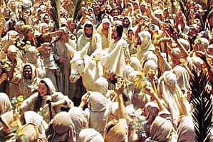 The Triumphal Procession of Jesus into Jerusalem