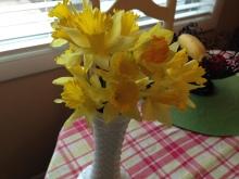 2015 Daffodils in Vase