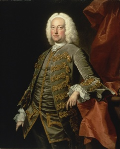 Charles Jennens; painting by Thomas Hudson - Public Domain