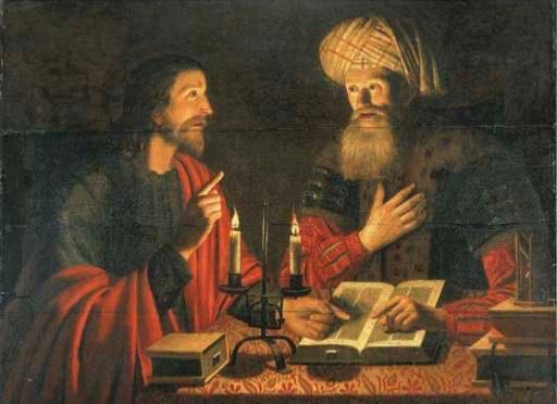 Jesus Talking to Nicodemus- Crijn Hendricksz Volmaryn 1601-1645